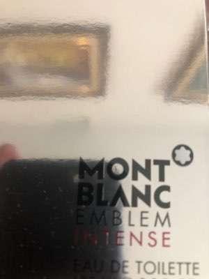Perfume Mont Blanc Emblem Intense 100 ml - 1