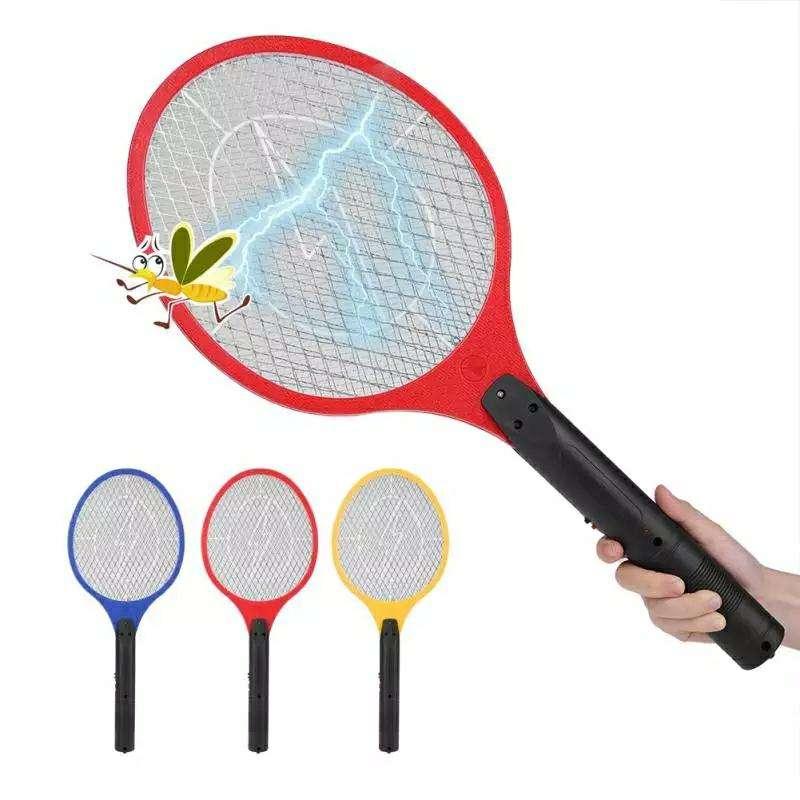 Raqueta eléctrica mata mosquito - 2