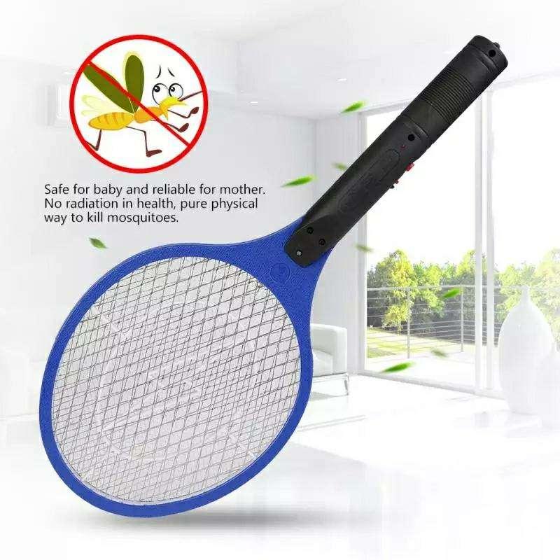 Raqueta eléctrica mata mosquito - 5