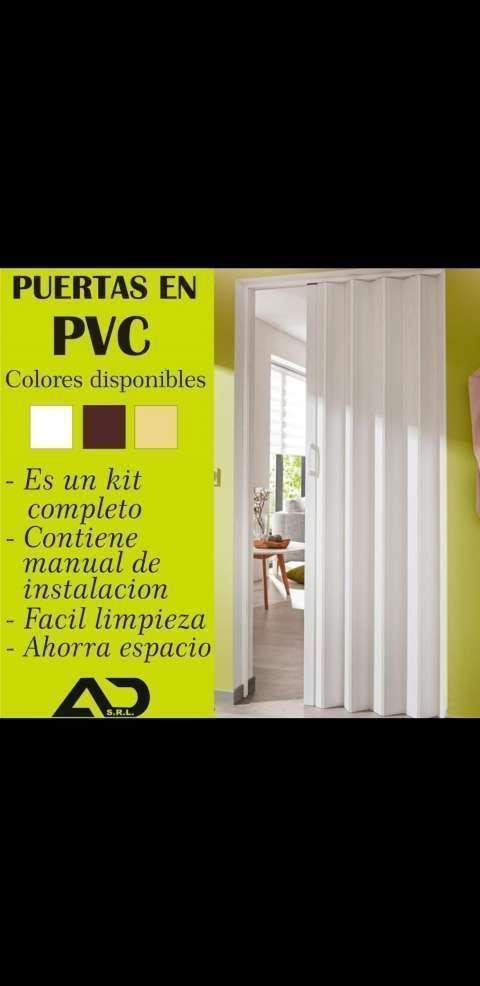 Puertas plegables de pvc - 0