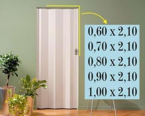 Puertas plegables de pvc - 1