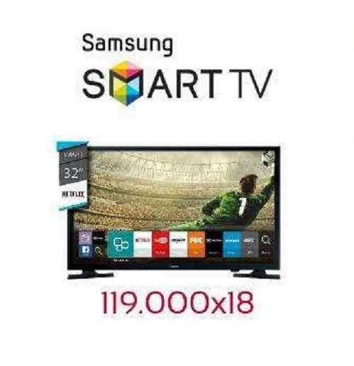 Tv led smart Samsung full hd 32 pulgadas - 0