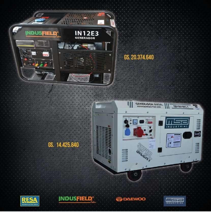 Generadores de electricidad - 1
