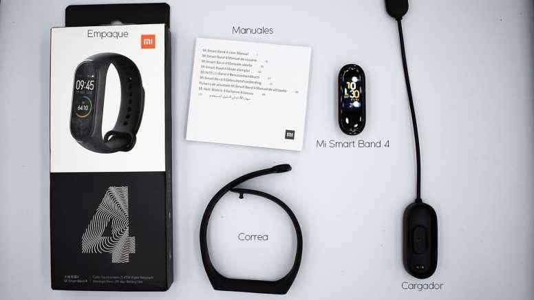 Xiaomi mi band 4 - 0