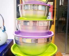 Juego de 5 bowls