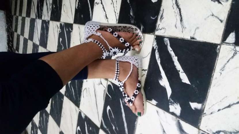 Zapatillas decoradas - 5