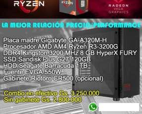 Combo AMD Ryzen R3-3200G