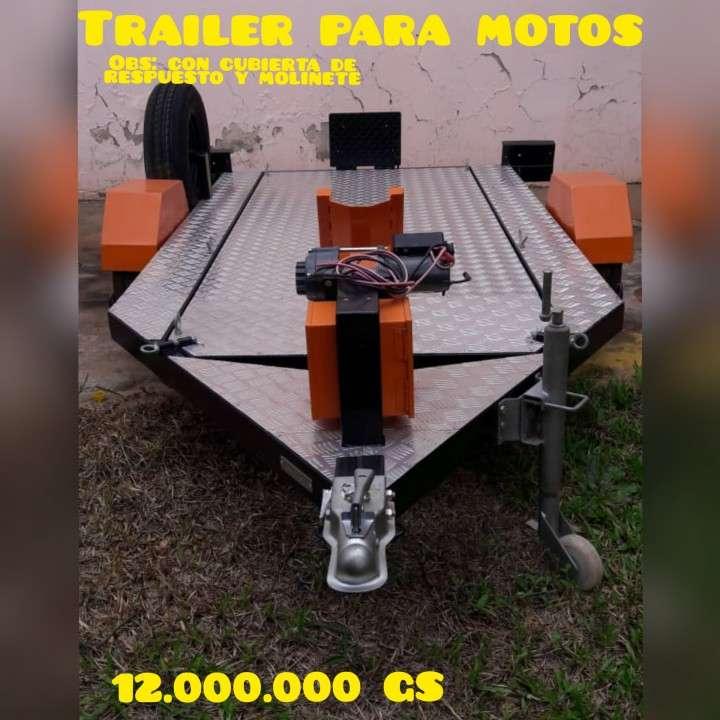 Trailer para motos - 0