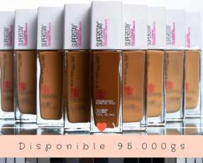 Base Maybelline súper stay full coverage