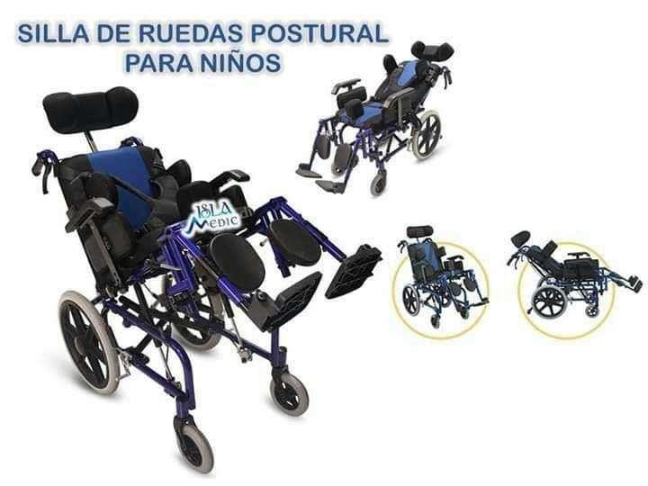 Silla de ruedas postural para niños - 0