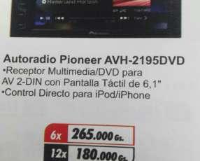Autoradio Pioneer AVH—2195DVD