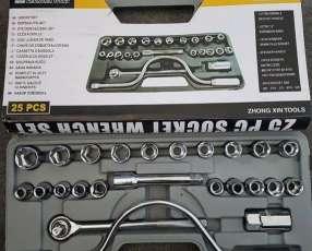 Caja de herramientas de 25 piezas