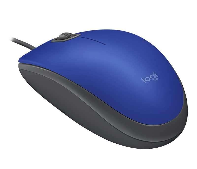 Mouse logitech 910-005491 m110 usb azul - 0