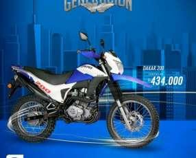 Moto Kenton Dakar