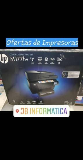 Impresora HP láser color