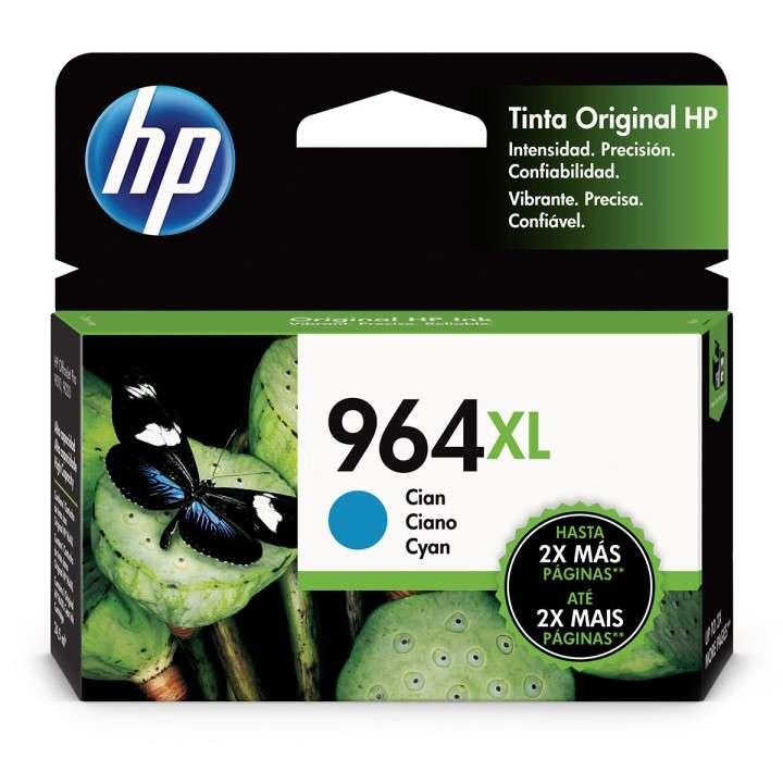 Tinta HP 3JA54AL 964XL Cyan (9010-9020) - 0