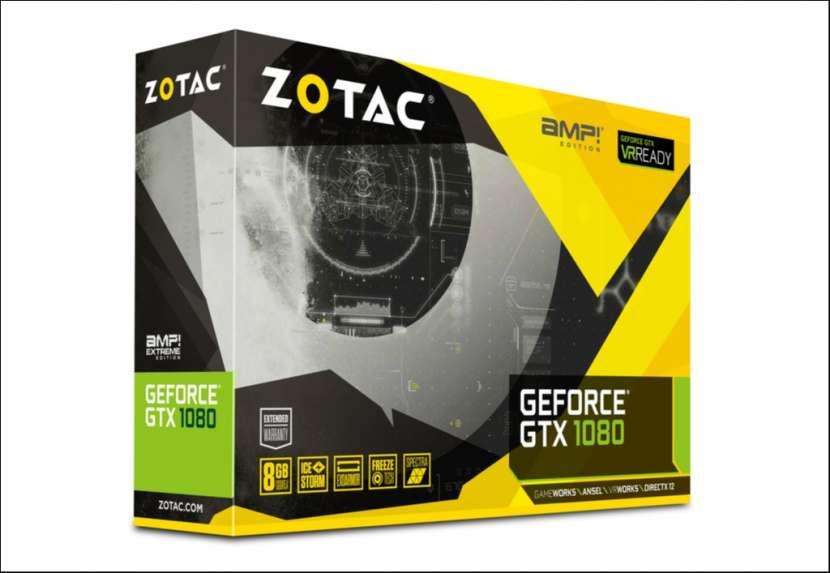 VGA ZOTAC GTX1080 AMP 8G/DDR5X/256 bits 1682/10000 - 5