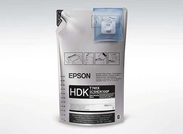 Tinta Epson F6200 T741X00 negro ultra chrome - 0