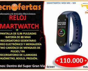 Reloj smartwatch M4