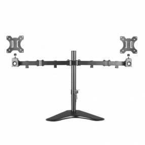 Soporte p/ tv arg-br-1604 doble escritorio 32 pulgadas