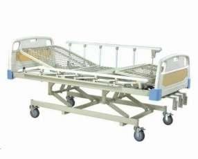 Alquiler de cama articulable de 3 movimientos manual