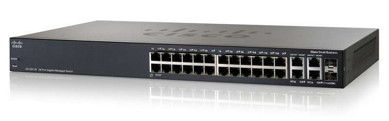 SG300-28 28-port gigabit managed switch - 0
