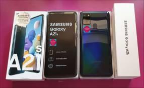 Samsung Galaxy A21s Cuadruple Cámara nuevos