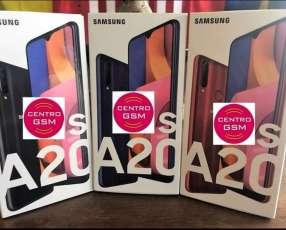 Samsung Galaxy A20s Triple Cámara nuevos