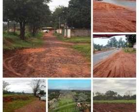 Terreno Capiata Ruta2 Km 24
