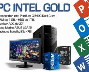 PC Intel Gold