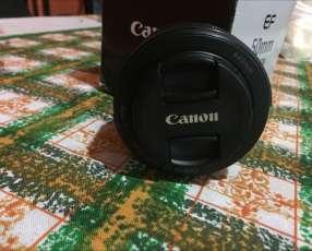 Lente canon 50mm semi nuevo, nada de uso