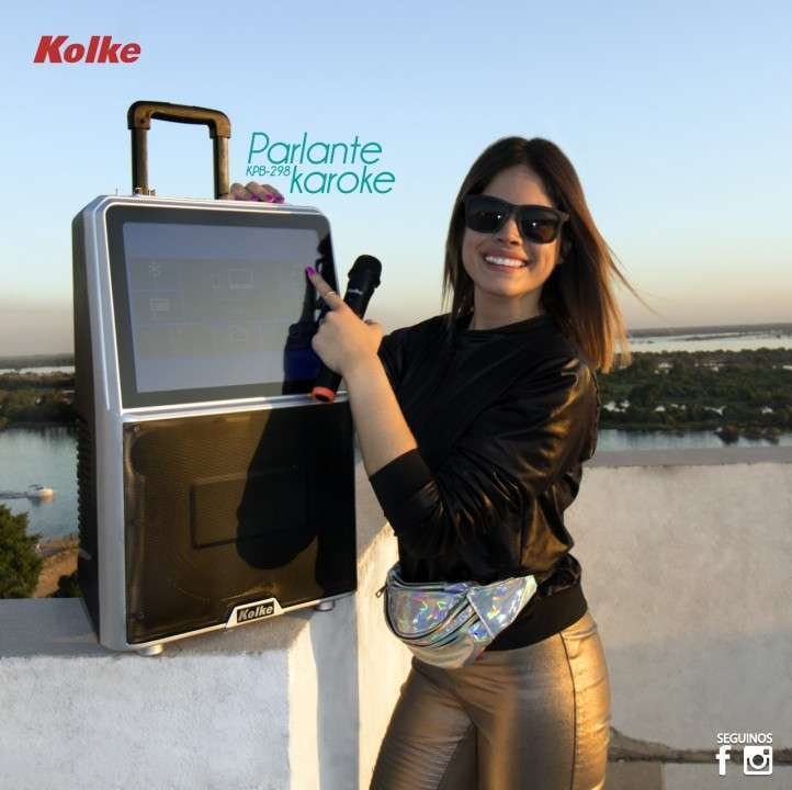 Parlante KPB -298 Karaoke - 0