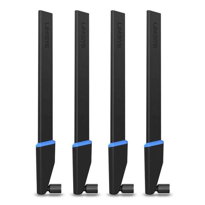 Antenas de alta ganancia linksys wrt004ant paquete de 4 - 0
