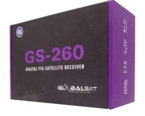 Receptor Globalsat GS-260 Nueva Versión