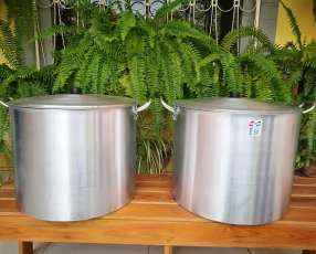 Tacho aluminio 50 litros
