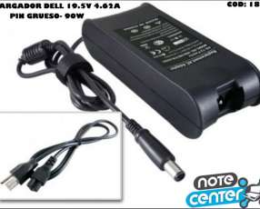Cargador para notebook Dell 19.5V 4.62A pin grueso 90W