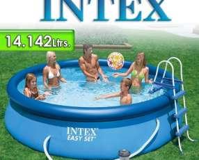 Piscina con borde Inflable Intex de 14.142 lts