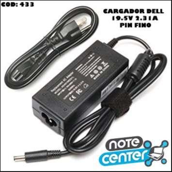 Cargador para notebook Dell 19.5V 2.31A pin fino 45W