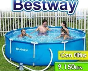 Piscina Bestway de 9.150 lts Estructura Metálica 5626
