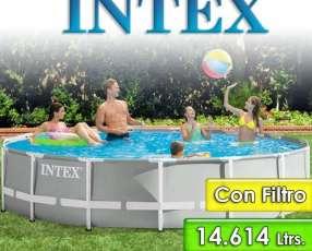 Piscina Intex de 14.614 lts Estructura Metálica 26724