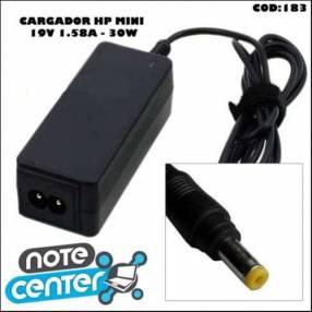 Cargador para notebook HP Mini 19V 1.58A pin amarillo 30W