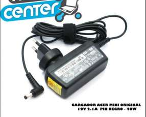 Cargador para Notebook Acer Mini 19V 2.1 original 40W