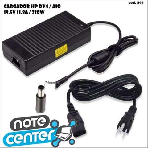 Cargador para notebook HP 19.5V 11.8A AIO pin grueso 230W