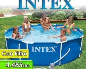 Piscina con Estructura Metálica Intex de 4.485 lts 2820
