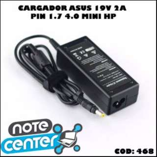 Cargador para notebook Asus HP Mini 19V 2A - 40W - 0
