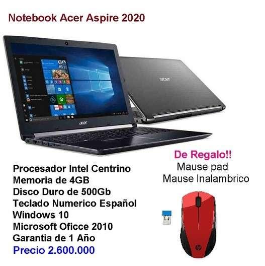 Notebook Acer Aspire - 0