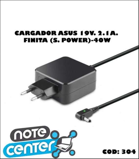 Cargador para notebook Asus 19V. 2.1A finita (s/ power) 40W - 0