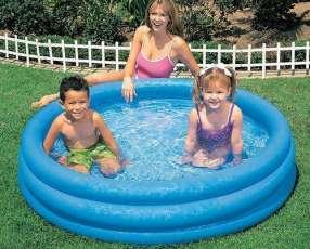 Pileta inflable 140 lts para niños