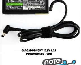 Cargador para notebook Sony 19.5V 4.7A pin amarillo