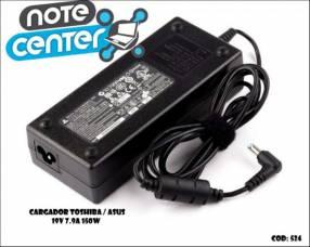 Cargador para notebook Toshiba Asus 19V 7.9A 5.5X2.5 -150W